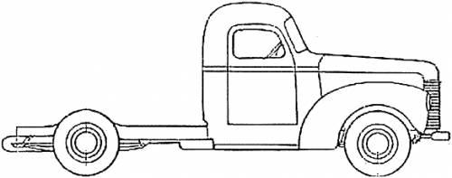 International KB-1 Truck (1946)