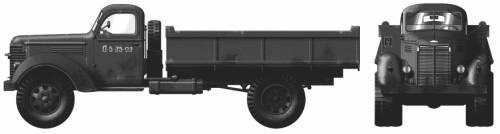 International KR-11 5-ton 4x2
