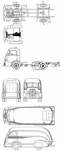 International Trucks - (1937)