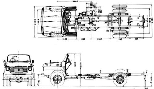 Isuzu Truck Chassis (1963)
