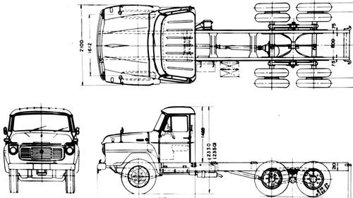 Isuzu TWD 80 6x2 (1963)