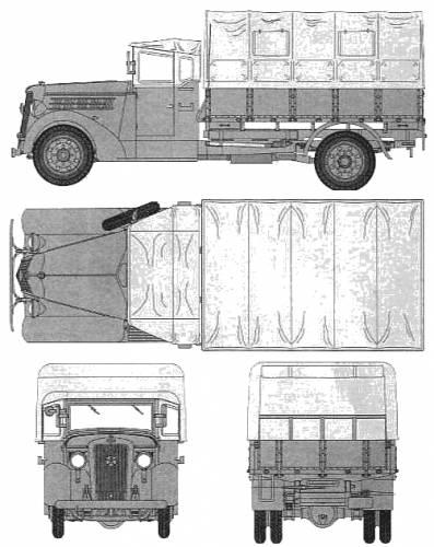 Isuzu TX 40 Type 97 (1942)