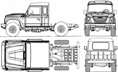 Iveco Massif Chassis (2009)