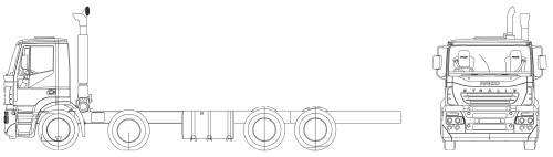 Iveco Stralis AD13 8x4