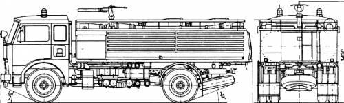 Jelcz 004 Fire Engine (1995)