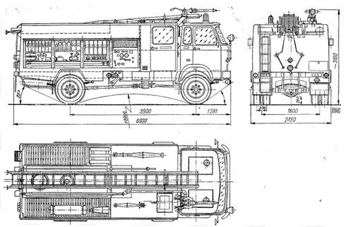 Jelcz 005 Fire Truck (1975)
