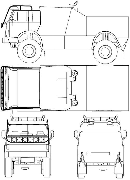 KamAZ-49252 Paris-Dakar (1996)