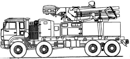 KamAZ-6560 PWB 72W6E