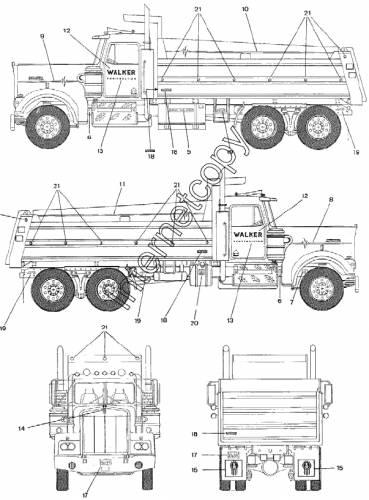 Kenworth Dump Truck (1994)