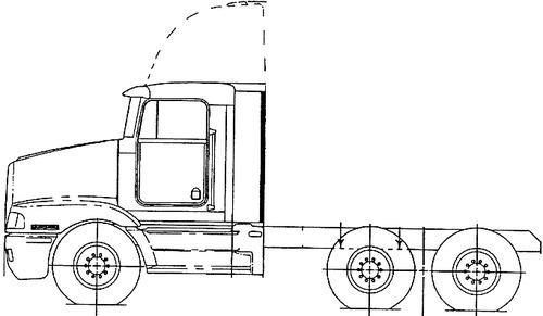 Kenworth T400B 1997