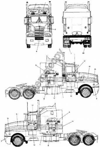 Kenworth T600