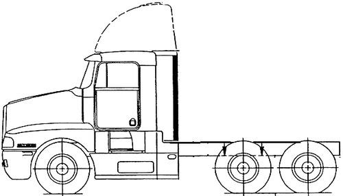 Kenworth T600B 1997