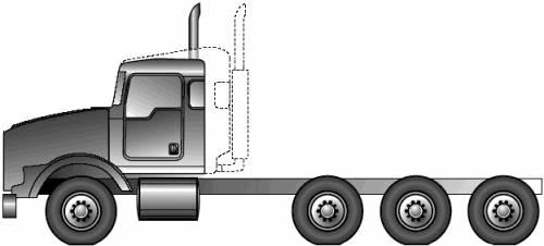 Kenworth T800H (2005)
