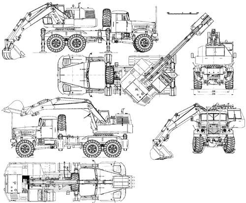 KrAZ-255B1 EOV-4421