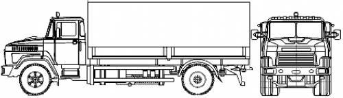 KrAZ-5133B2 4x2 (2007)