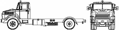 KrAZ-5133H2 4x2 (2007)