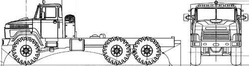 KrAZ-63221 Universal