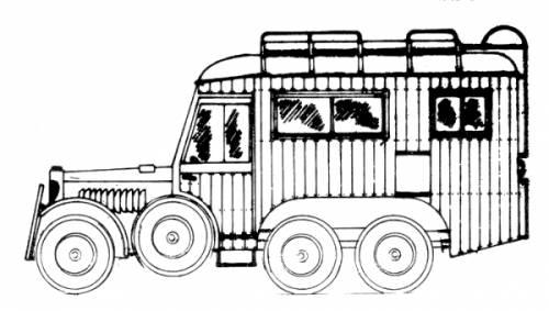 Krupp Protze Steyr 640 Funkwagen