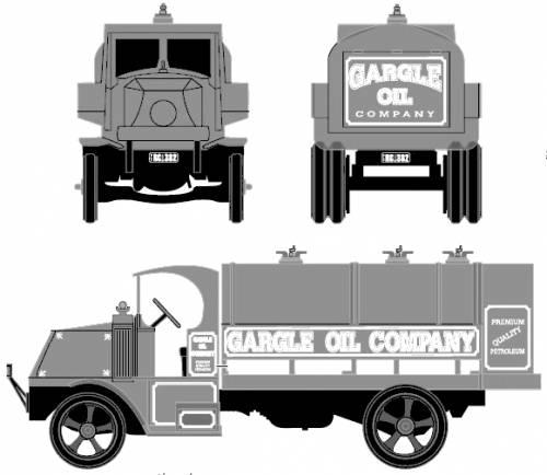 Mack Bulldog Tanker Truck (1926)