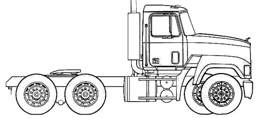 Mack CH Axle Back (1988)
