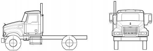 Mack CV712 Granite 4X2 (2005)