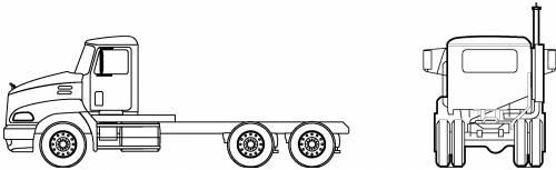 Mack CXN603 6X4 Vision DayCab (2005)