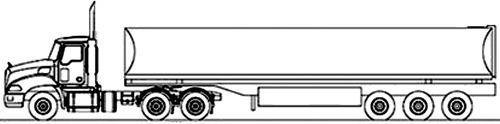 Mack Granite 6x4 Tractor 2015