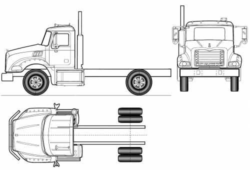 Mack Granite Axle Back GU812 4x2 (2011)