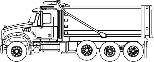 Mack Granite Dump Truck (2019)