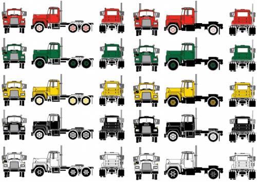 Mack Model R Tractor Truck