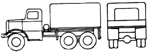 Mack NM G535 6x6 1940