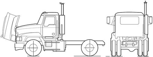 Mack Pinnacle CHU602 (2007)