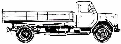 Magirus Deutz 156 D 15 K 4x2 (1967)