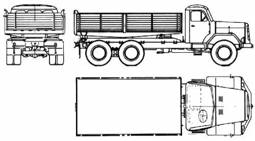 Magirus-Deutz 200D 22 AK 6x6 (1975)