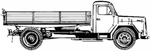 Magirus Deutz 230 D 16 K 4x2 (1967)
