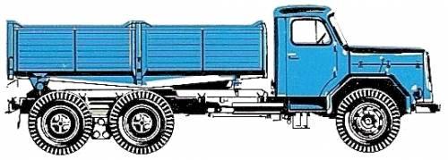 Magirus Deutz 230 D 22 K 6x4 (1967)