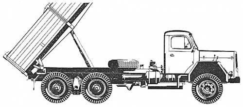 Magirus Deutz 230 D 26 K 6x4 (1967)