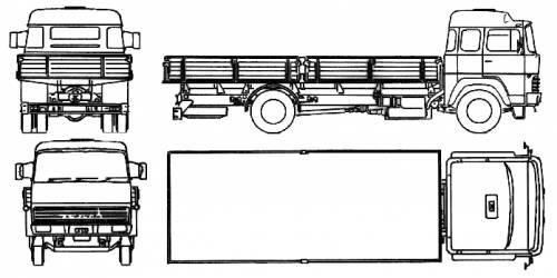 Magirus-Deutz 23D 13 (1970)