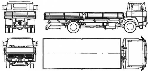Magirus-Deutz 23D 13L (1965)