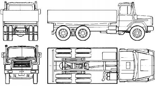 Magirus-Deutz 256D 26 K 6x4 (1978)