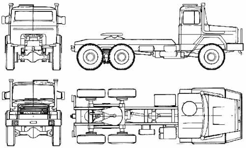 Magirus-Deutz 310D 20 AS 6x6 (1979)
