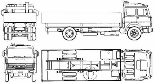 Magirus-Deutz 320M 19 FL (1975)