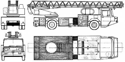 Magirus-Deutz DL23-12 Fire Truck (1980)