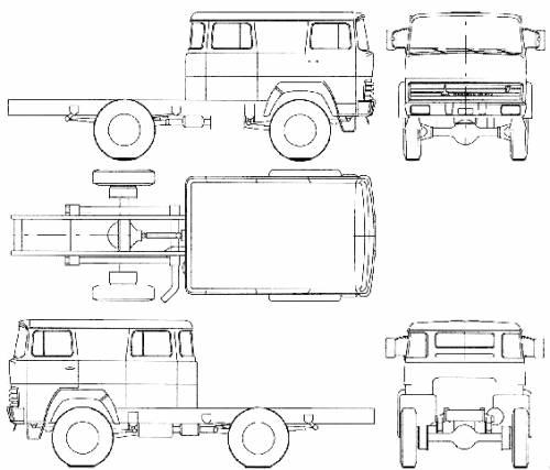 Magirus-Deutz F130 D7 FA Fire Truck (1970)