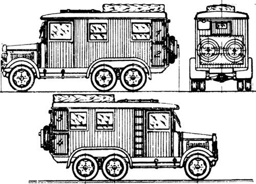 Magirus-Deutz Fahrgestell
