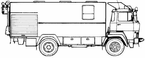 Magirus-Deutz Fire Truck (1970)