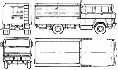 Magirus-Deutz M170 D 11 (1976)