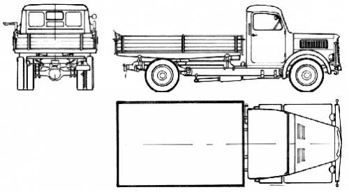 Magirus-Deutz S3500 (1949)