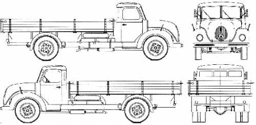 Magirus-Deutz S3500 1952-55
