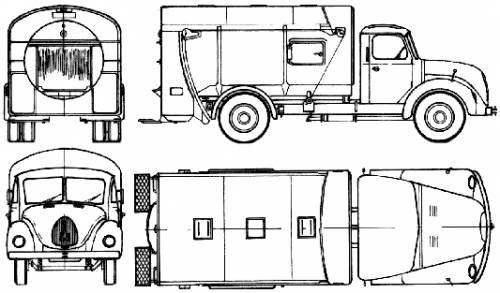 Magirus-Deutz S3500 (1959)